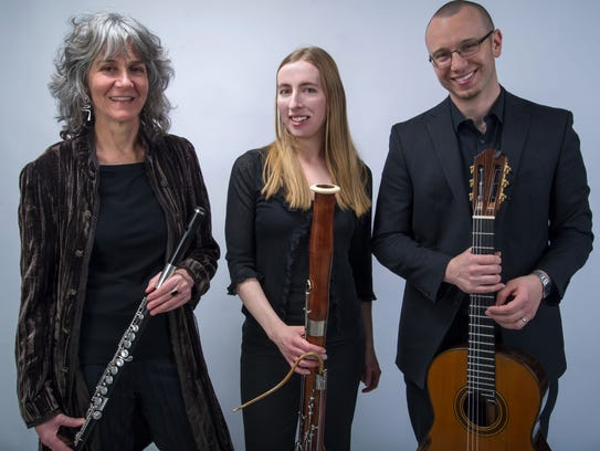 Pan Harmonia musicians, from left, Kate Steinbeck,