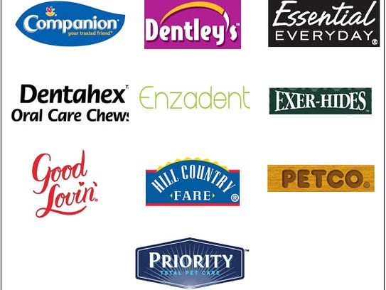 Rawhide brands being recalled due to potential chemical