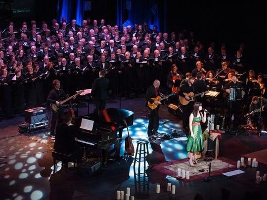 """Irish Christmas: A Celebration of Carols with Keith and Kristyn Getty"" is scheduled for Dec. 20 at Carnegie Hall."