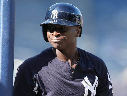 Yankees shortstop Didi Gregorius is in the midst of