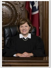 Tennessee Supreme Court Justice Sharon Lee is shown