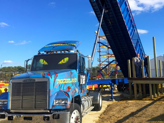 Have a load of fun on the Greased Beast at Diggerland USA.