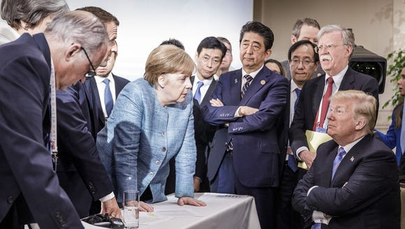 In this photo provided by the German Government Press