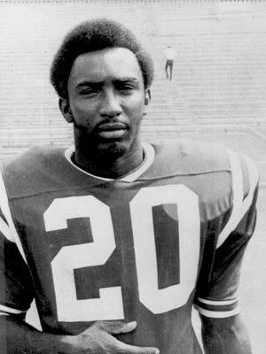 Nebraska All-American Johnny Rodgers is shown in  October 1971.