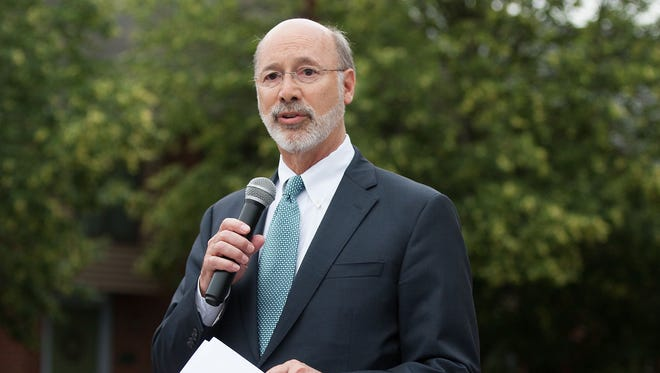 Pennsylvania Gov. Tom Wolf says he will veto the legislature's attempt to limit abortions. (File photo/June 13, 2016).