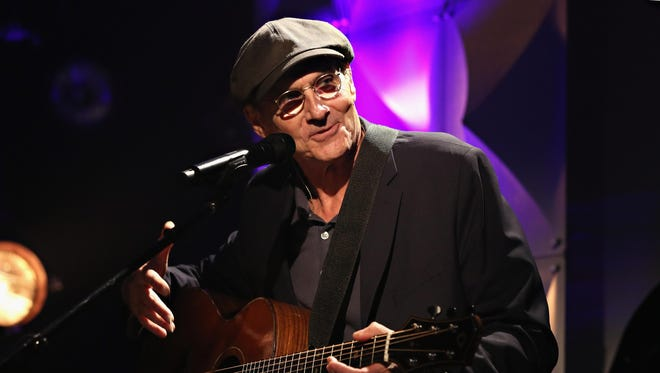Singer-songwriter James Taylor will perform a sold-out show in Binghamton on Friday.