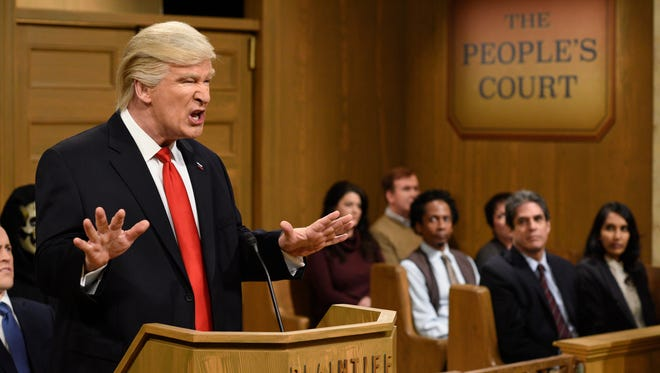 Alec Baldwin has won raves with his impersonation of President Donald J. Trump on NBC's 'Saturday Night Live.'