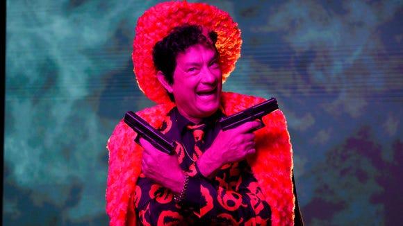 "Tom Hanks as David S. Pumpkins-- well, ""Pimpkins--"