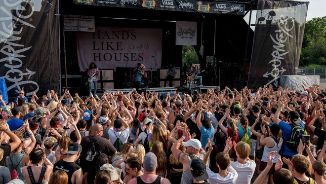 Vans Warped Tour '17 returned to the Palace of Auburn Hills, the one day event on July 21, 2017 featured over 60 bands on 7 stages.