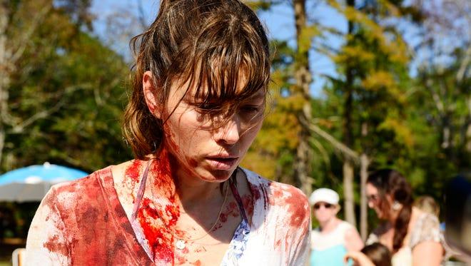 Jessica Biel as Cora on 'The Sinner.'