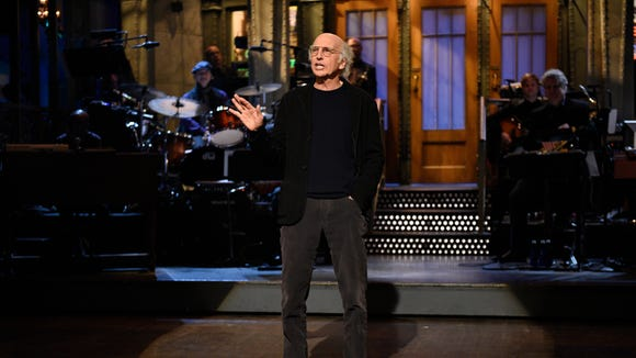 Larry David hosted the Nov. 4 episode of 'Saturday