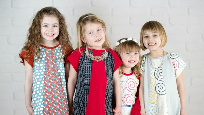 The Patchery lets you choose styles and fabrics for children's clothing that's sewn to order.
