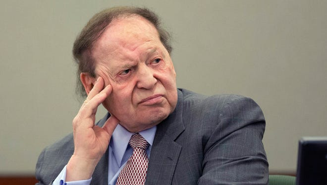 Sheldon Adelson is CEO of Las Vegas Sands Corp.