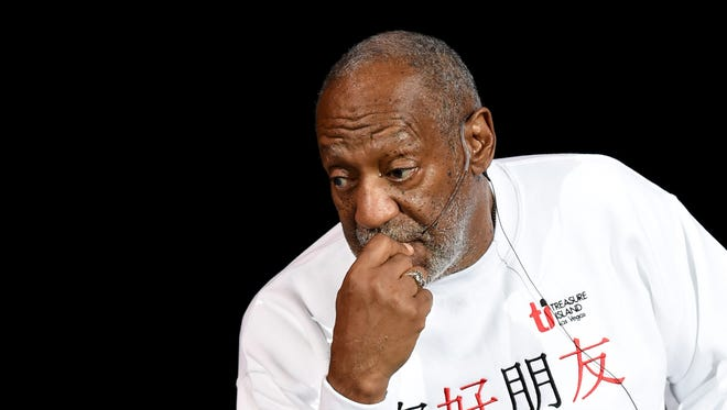 Comedian/actor Bill Cosby performs at the Treasure Island Hotel & Casino on September 26, 2014 in Las Vegas, Nevada.