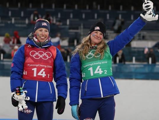 Olympics: Cross Country Skiing
