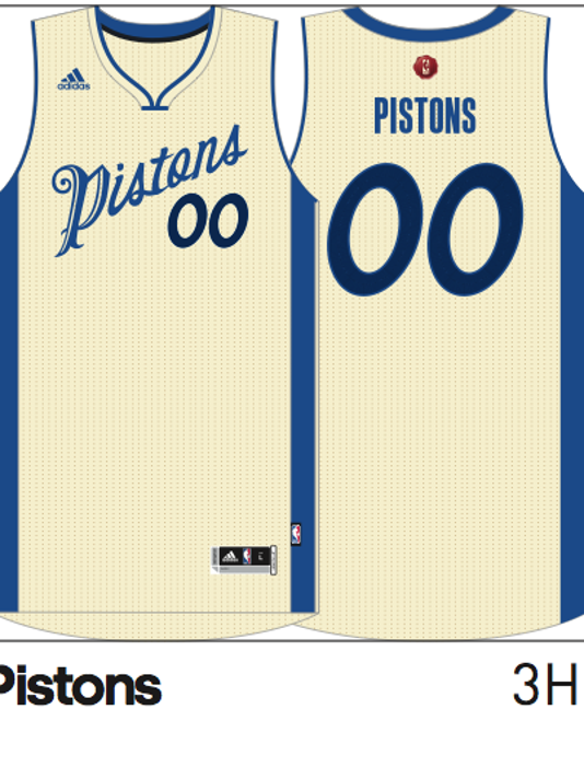 eb6a08e38f7 Check out the Detroit Pistons  special Christmas Day uniform