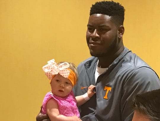 When the Vols visited East Tennessee Children's Hospital