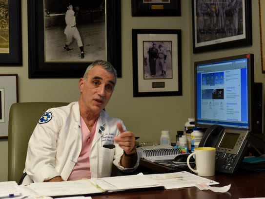 Dr. Thomas Scalea is the Physician-in-Chief of the