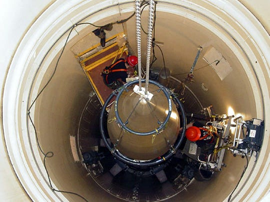 Malmstrom Air Force Base will receive federal funding to helpmodernize its ground-based intercontinental ballistic missile (ICBM) infrastructure and replace UH-1N Huey military helicopters at the base, Sen. Steve Daines said Monday.