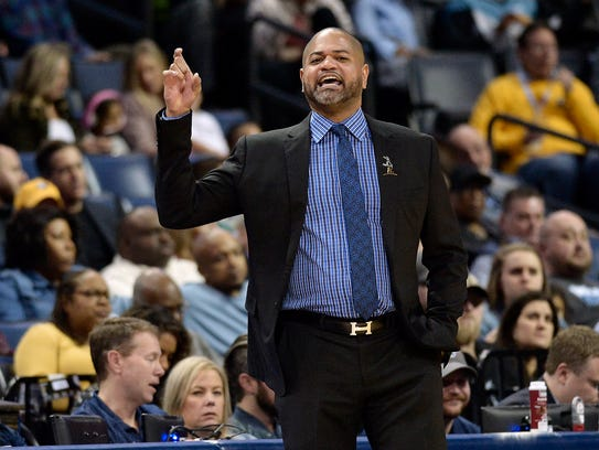 Memphis Grizzlies interim head coach J.B. Bickerstaff