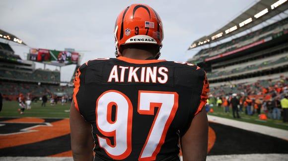 Cincinnati Bengals defensive tackle Geno Atkins (97)