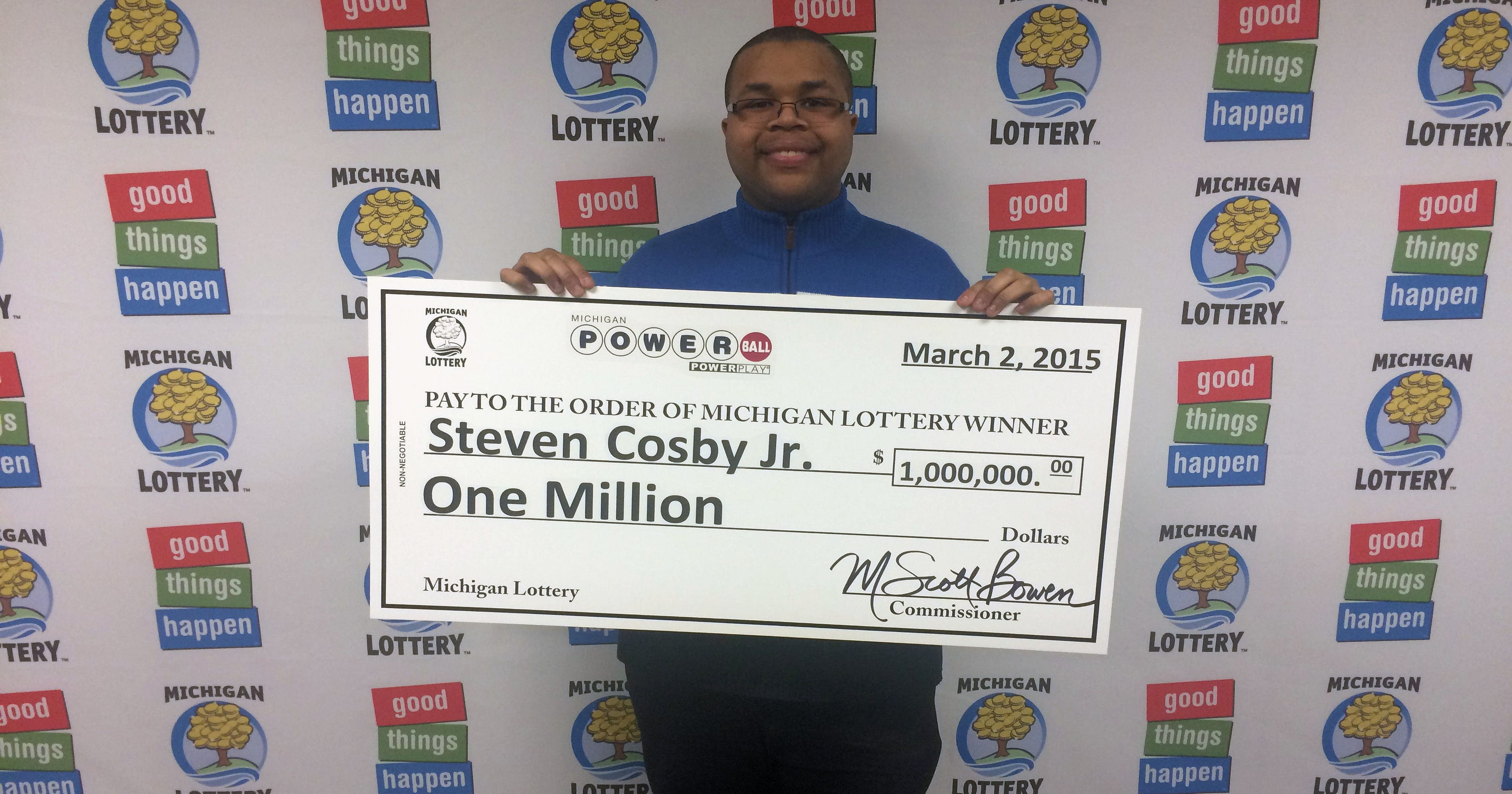 Inkster Man Wins 1 Million In Powerball Drawing