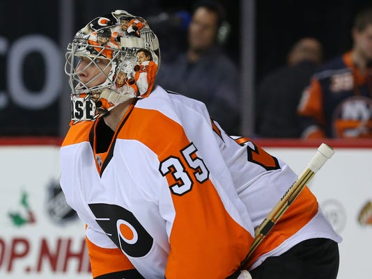 NHL: Philadelphia Flyers at New York Islanders