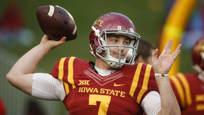 Iowa State quarterback Joel Lanning enters the spring as the clear-cut starter for the Cyclones.