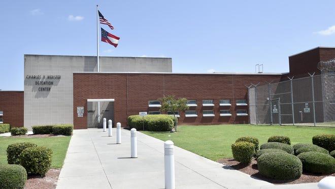The Charles B. Webster Detention Center in Augusta, Ga., Thursday morning September 3, 2020.