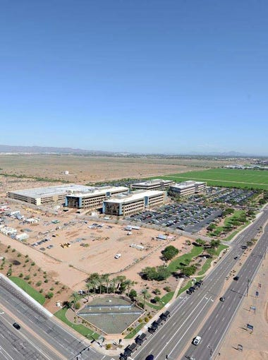 The nearly 50-acre campus sits within Chandler's Price Road Corridor, also home to Intel Corp., Orbital ATK and PayPal.