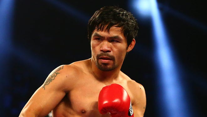 Manny Pacquiao won't face Jeff Horn again this year.
