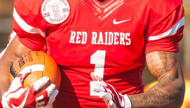 Paulsboro High School's football team competes as the Red Raiders, a name chosen for a recent drug probe.