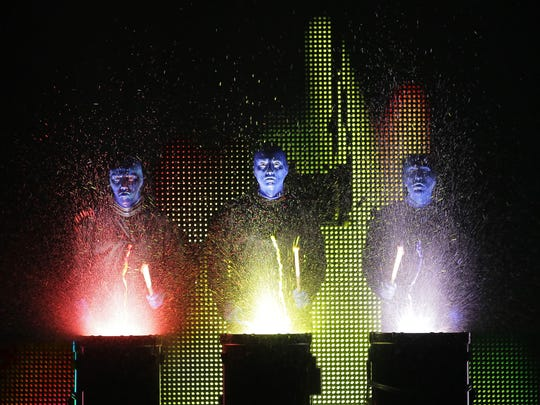 Blue Man Group returns to the Wharton Center in Lansing.