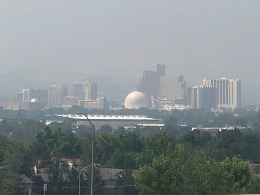 smoky air in reno