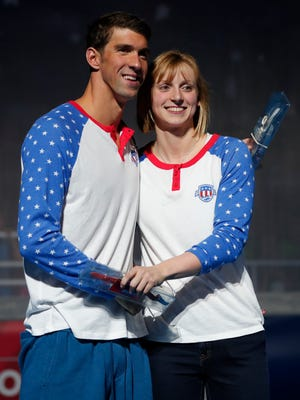 Michael Phelps and Katie Ledecky combined to win 11 medals at the 2016 Summer Games in Rio de  Janeiro.