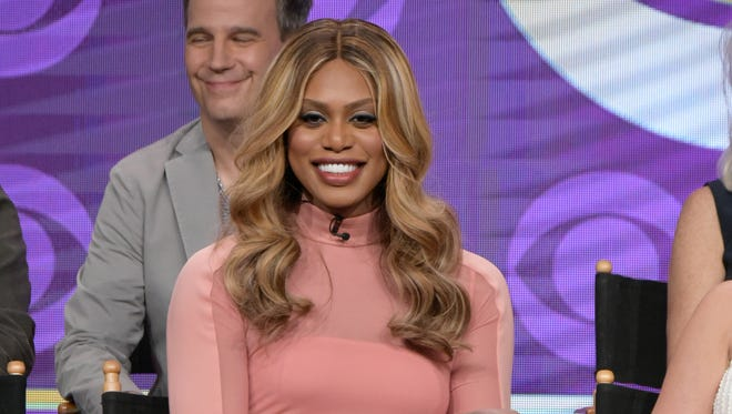 """""""It feels really exciting to be alive at this moment and to be the vessel for these moments that were inevitable,"""" Laverne Cox said at the Television Critics Association press tour in Beverly Hills in August 2016."""