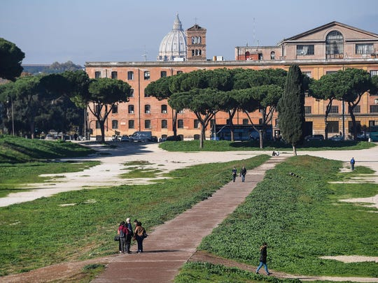 The Circus Maximus archaeological site is reopened to the public after seven years of excavations, restoration and landscaping works.