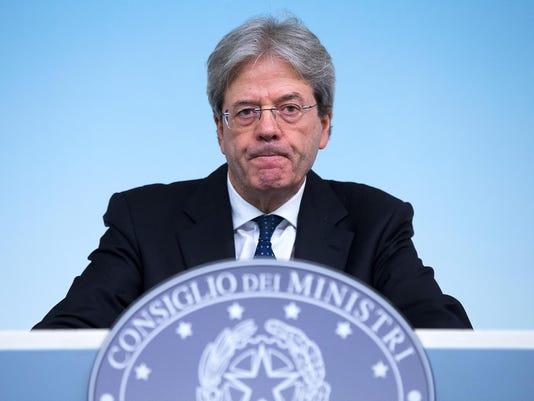 EPA ITALY POLITICS POL GOVERNMENT ITA LA