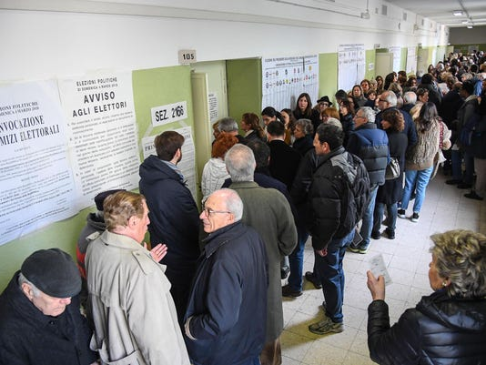EPA ITALY GENERAL ELECTIONS POL ELECTIONS ITA