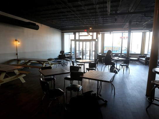 A large open concept for customers at the soon to open