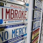 Guess which vanity plates the Indiana BMV denied