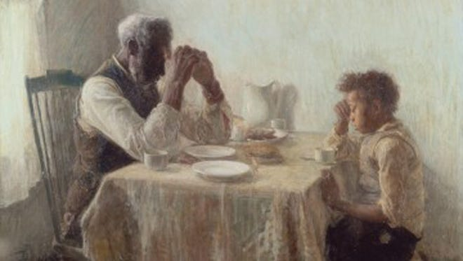Bill and Camille Cosby's art collection will go on exhibit at the Smithsonian National Museum of African Art in November, including this painting by Henry Ossawa Tanner,'The Thankful Poor.'