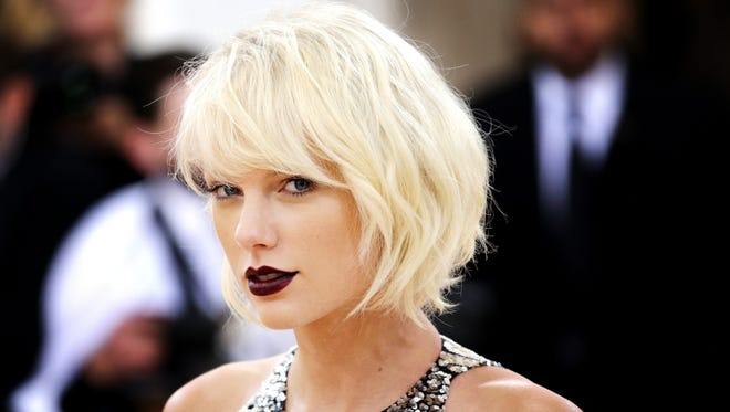 Taylor Swift at the Met Gala in New York, in May 2016.