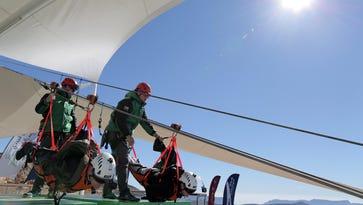 Go zipping: world's longest zip line from Jebel Jais peak