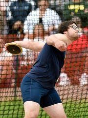 Greencastle-Antrim's Campbell Parker competes in the