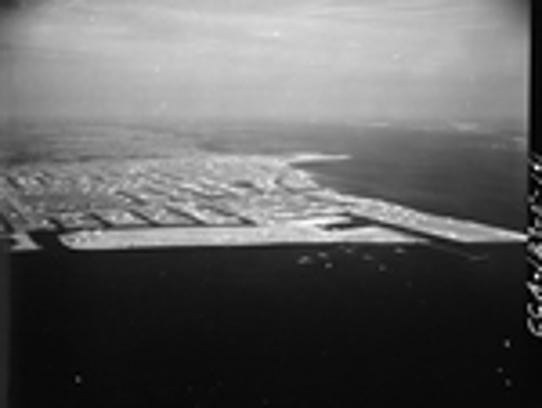 A view of Cape Coral in 1961.