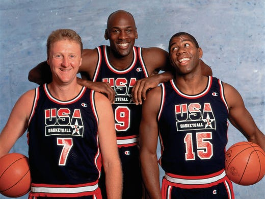 5da646be2cbe On this date  1992 Olympic Dream Team wins gold medal in Barcelona