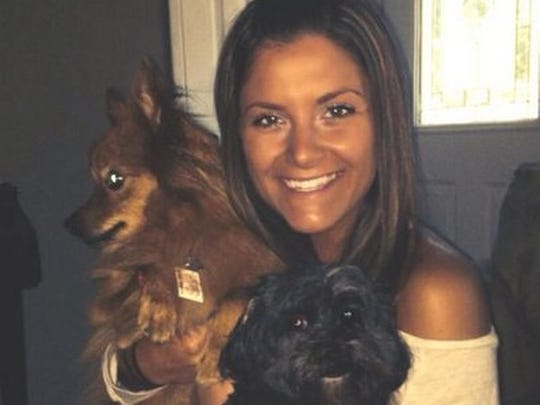 Natalie Muoio of Morristown, N.J., now 23, pictured