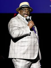 Cedric The Entertainer on stage at the 12th Annual