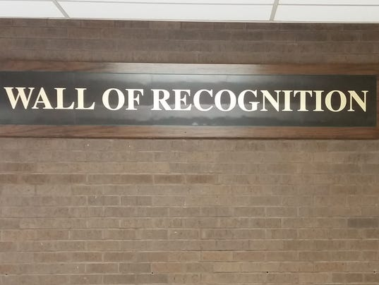 Wauwatosa West Wall of Recognition.